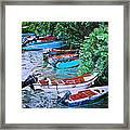 River Rainbow Framed Print
