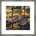 Riverwalk Escape Framed Print