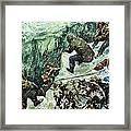 Roald Amundsen's Journey To The South Pole Framed Print