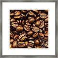 Roasted Coffee Beans Framed Print