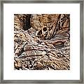 Rock Texture Framed Print by Kelley King