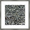 Rocks In Shallow Water Framed Print