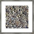 Rocky Bottoms Framed Print
