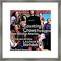 Rolling Stone Cover - Volume #685 - 6/30/1994 - Counting Crows Framed Print