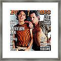 Rolling Stone Cover - Volume #775 - 12/11/1997 - Mick Jagger And Keith Richards Framed Print