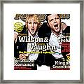 Rolling Stone Cover - Volume #979 - 7/28/2005 - Owen Wilson And Vince Vaughn Framed Print
