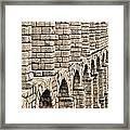Roman Aqueduct Segovia Framed Print