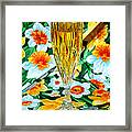 Romantic Gold Framed Print