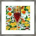 Romantic Ruby Framed Print