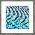 Roof Panels Framed Print