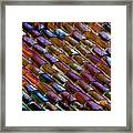 Roof Tiles Framed Print