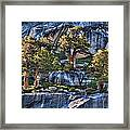 Rooted In Solid Rock Framed Print