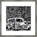Roots That Drive Framed Print
