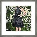 Rose Byrne Wearing A Chanel Dress Framed Print