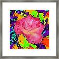 Rose In The Matter Of Your Hand 6 Framed Print