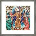 Russian Mosaic Icon Framed Print