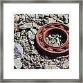 Rusty Wheel Bearing Framed Print
