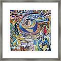 Saftey From The Skies To Rise Above Framed Print