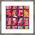 Sandstone Sunsongs Rockin Red Framed Print