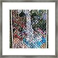 Santa Amelia Waterfall Quilt Framed Print by Sarah Hornsby