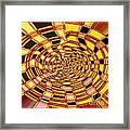 Satin Ribbons Abstract Framed Print