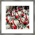Scouts Parade Framed Print