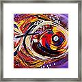 Scripture Fish Framed Print