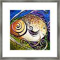 Seagrass And Sultry Non-subtlety Framed Print