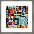 Search To Express The Will Of The Eternal Blessed One Framed Print