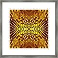 Seeding Mandala Framed Print