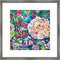 Serendipity Floral Framed Print