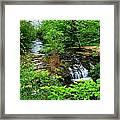 Serenity With Frame Framed Print