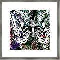 Seven Butterflies Framed Print