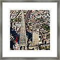 Shard London Aerial View Framed Print