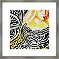 She Framed Print by Ayan  Ghoshal
