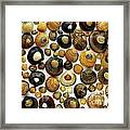 Shell Background Framed Print