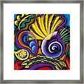 Shellfish Framed Print by Leon Zernitsky
