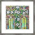Shining Through The Stain Framed Print