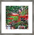 Sidewalk Cafe Framed Print