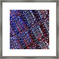 Silicon Wafer Framed Print