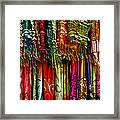 Silk Dresses In Vietnam Framed Print