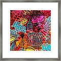 Singing For Freedom - Dancing For Joy Framed Print