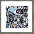 Sistine Chapel Ceiling Framed Print