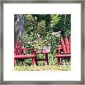 Sit For Awhile Framed Print