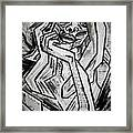 Sketch - Intrigued Framed Print by Kamil Swiatek