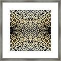 Snow Fence - Abstract Framed Print