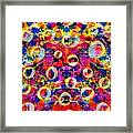 Space Bubbles Framed Print