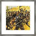 Spanish Conquistadors Framed Print