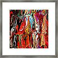 Spirit Of Mardi Gras Framed Print