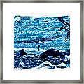 Spirit Of The Wild Blue Framed Print